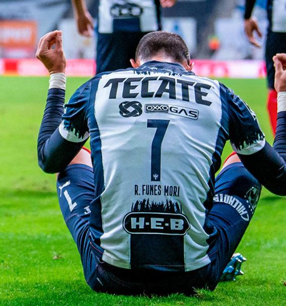 Monterrey le pegó al América. Foto: Twitter Rayados