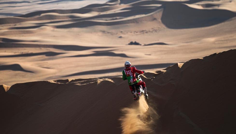 Murió francés en el Rally Dakar. Foto: Twitter Rally Dakar