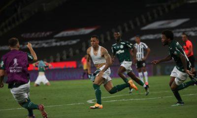 Palmeiras campeón de la Copa Libertadores. Foto: Twitter @Brasileirao_GO