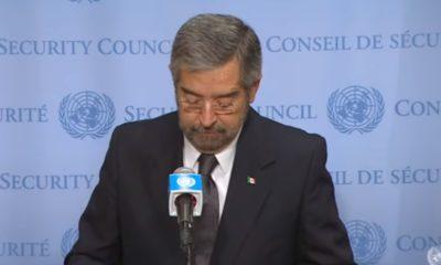 México ya es miembro del Consejo de Seguridad de la ONU