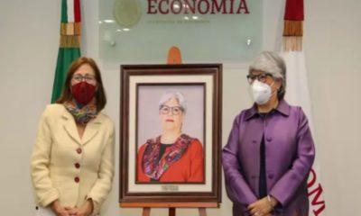 Tatiana Clouthier toma posesión como secretaria de Economía