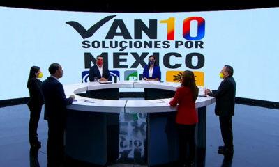 PAN, PRI, PRD presentan 10 soluciones por México