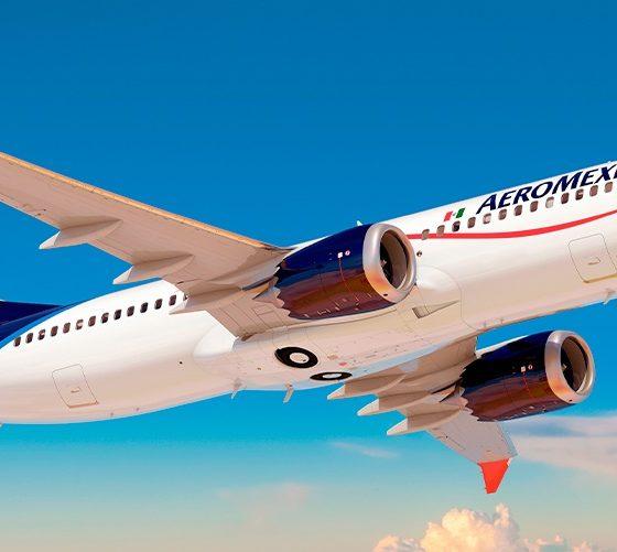 Suspende Aeroméxico vuelos a Canadá. Foto: Twitter Aeroméxico