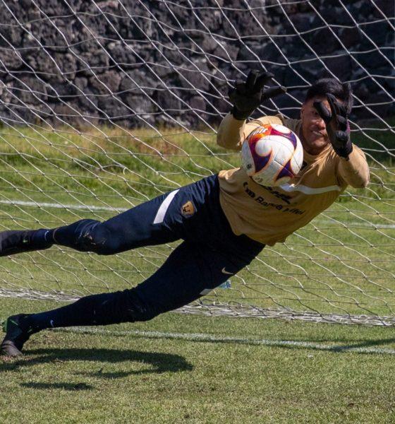Talavera confía en el equipo. Foto: Twitter Pumas