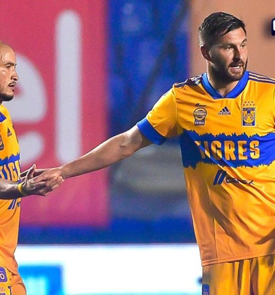 Tigres le abolló la corona a León. Foto: Twitter Liga MX