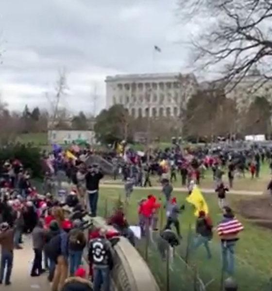 Simpatizantes de Trump irrumpen en el Capitolio