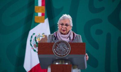 Ante ausencia de AMLO, Sánchez Cordero promueve aborto en conferencia mañanera