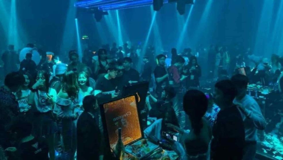 Wuhan olvida la pandemia con fiesta. Foto: Twitter