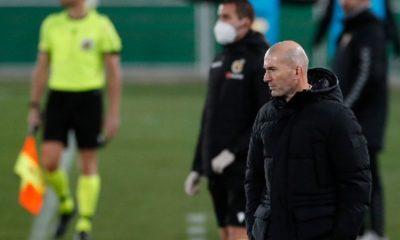 Zidane libra el Covid. Foto: Twitter Real Madrid