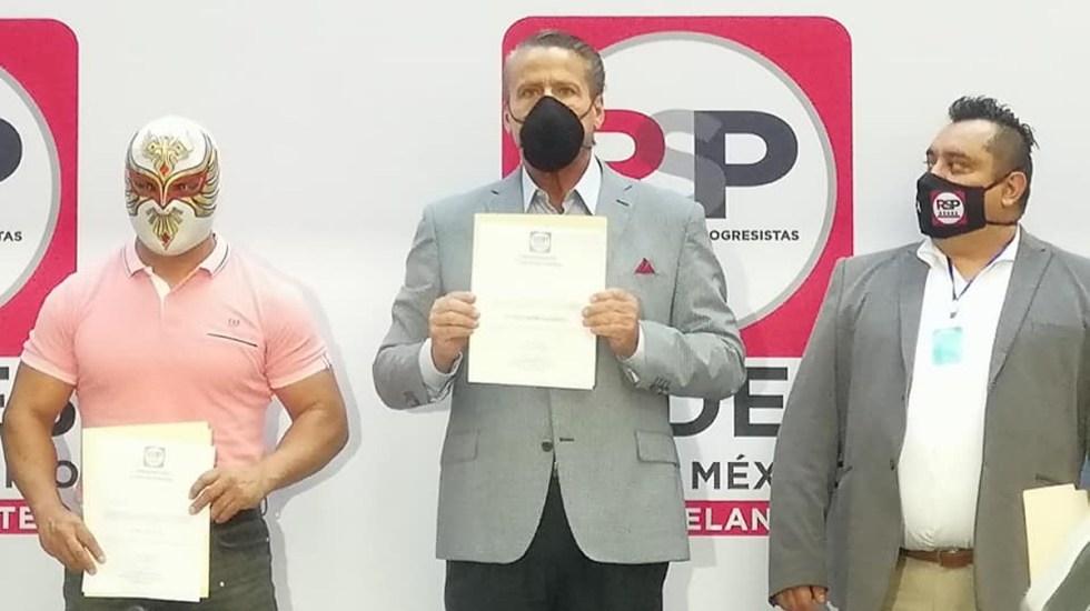 Alfredo Adame candidato d Redes Sociales Progresistas
