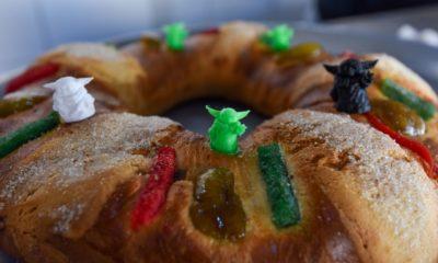 Rosca de Reyes de Baby Yoda