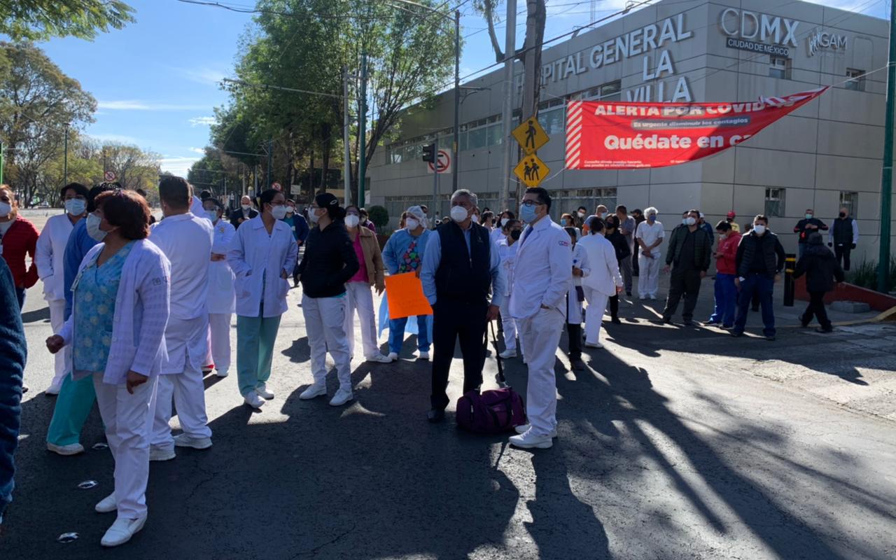 Médicos denuncian falta de insumos y personal