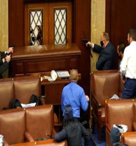 Imponen toque de queda en Washington; suspenden sesión en el Senado