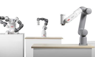 ABB lanza nueva generación de cobots