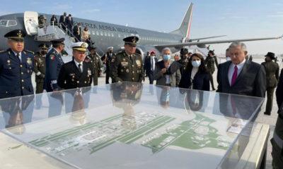 López Obrador inaugura pistas del Aeropuerto Felipe Ángeles