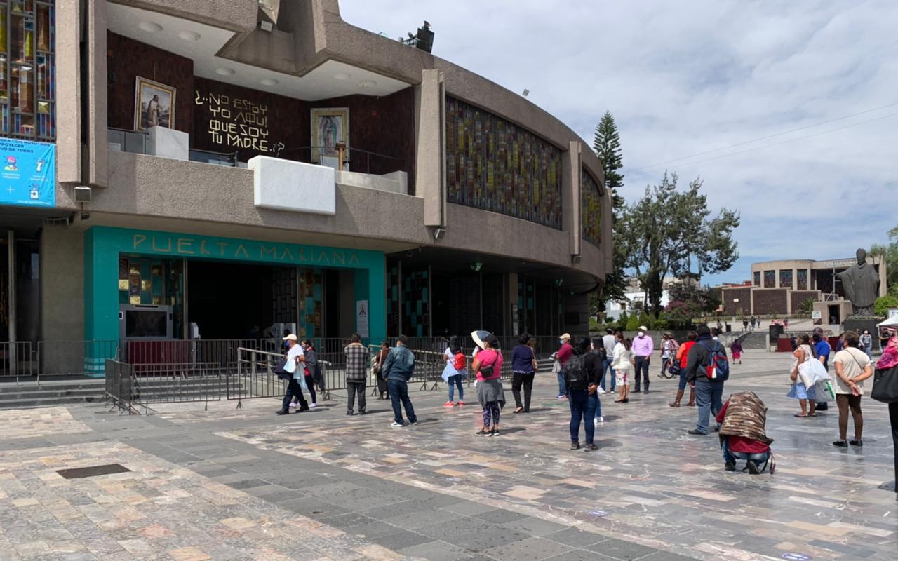 Miércoles de Ceniza en la Basílica de Guadalupe