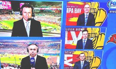 Comentaristas de Fox Sports se pelean en plena transmisión. Foto: Twitter