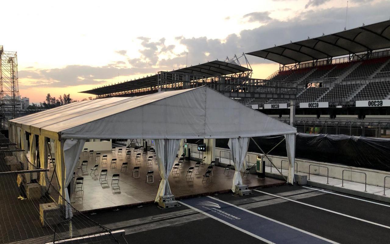 Suman camas Covid en Hospital del Autódromo