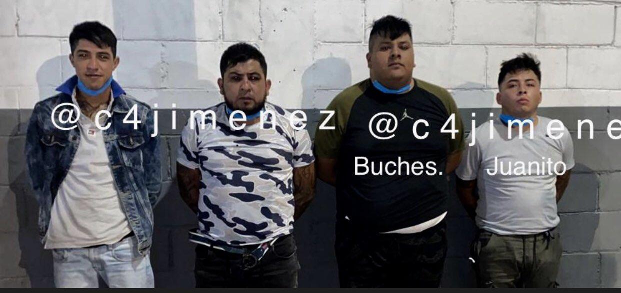 Detienen a presuntos asesinos de los niños Mazahuas. Foto: @c4jimenez