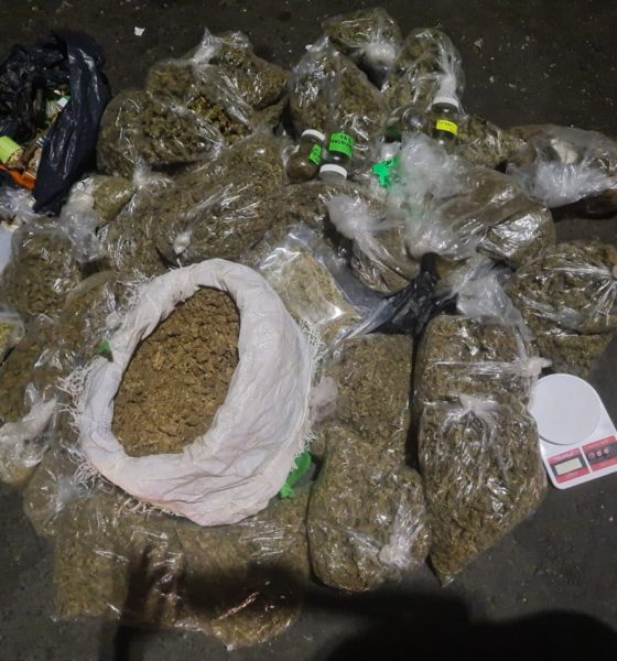 Detienen a sujeto con varios kilos de Droga. Foto: SSCP