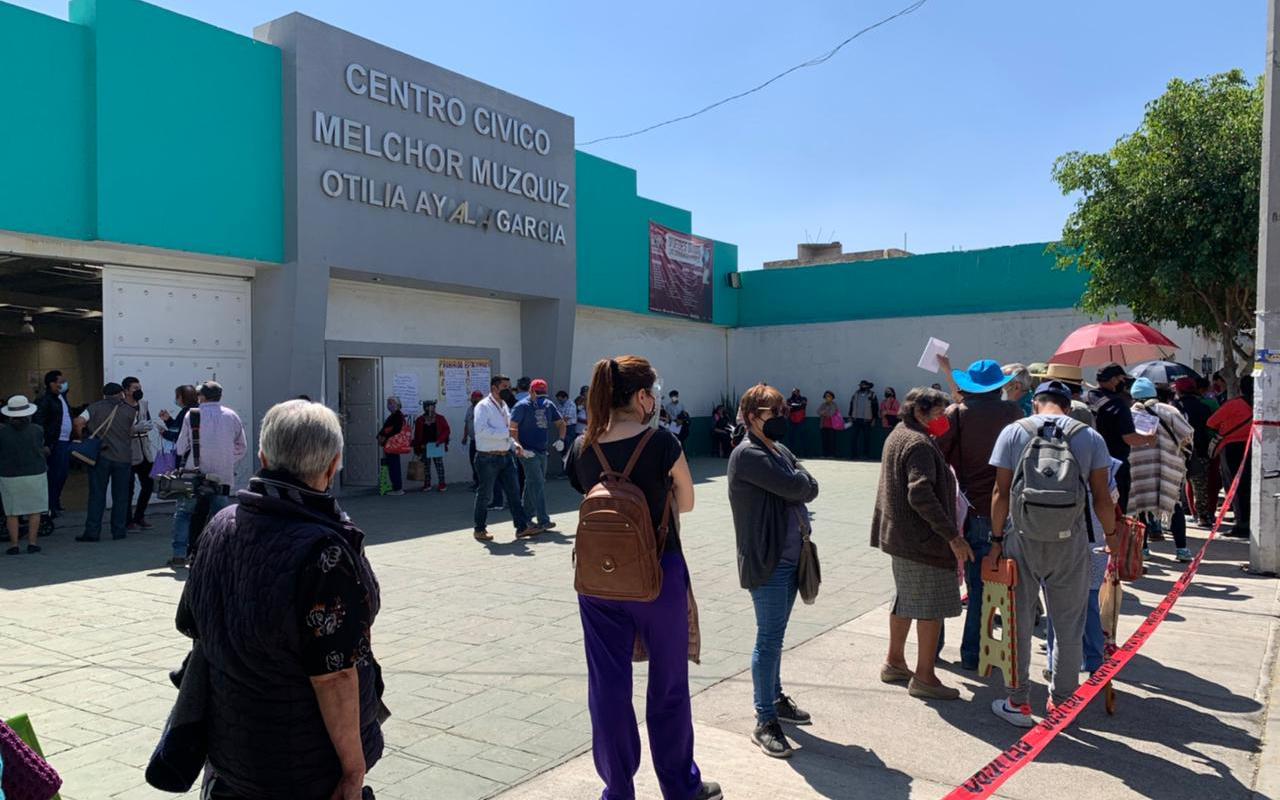 Normalizan vacunación anticovid en Ecatepec