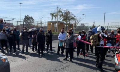 Continúan contratiempos en vacunación en Ecatepec