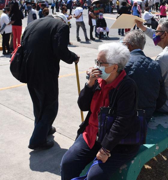 Garantizan vacunación para todos los adultos mayores de Ecatepec