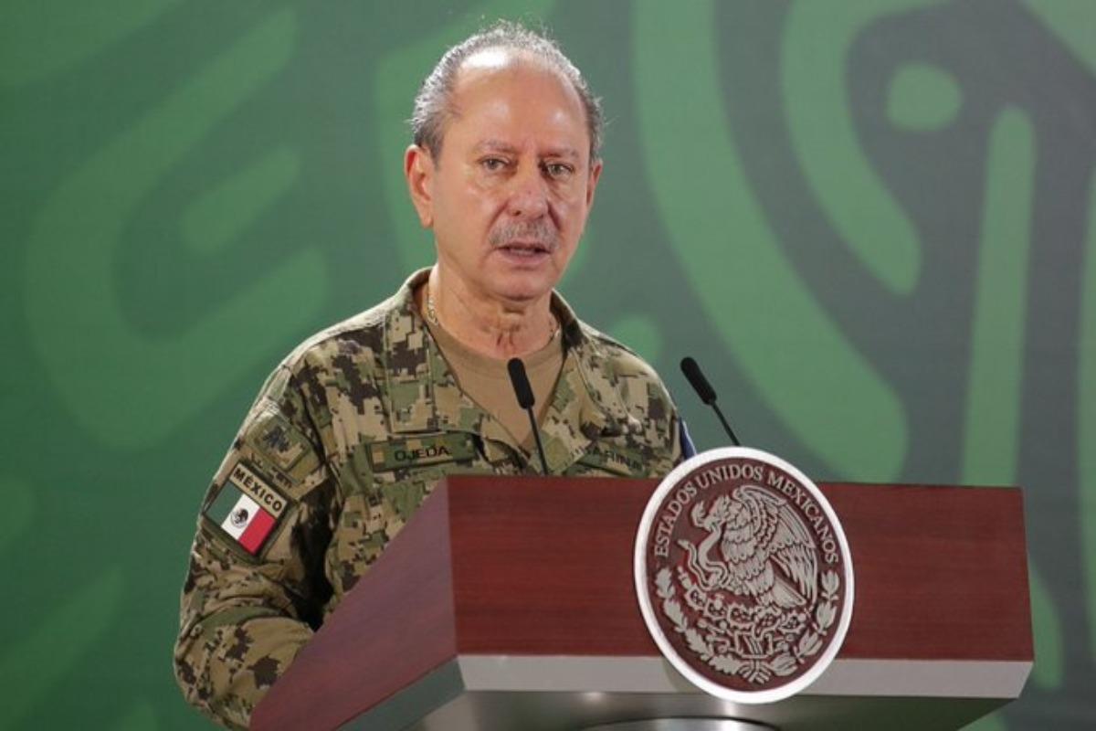 Secretario de Marina, Rafael Ojeda, da positivo a Covid-19 por segunda vez