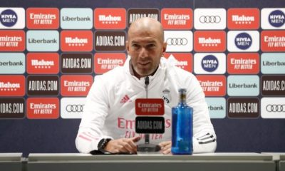 Explota Zinedine Zidane. Foto: Twitter