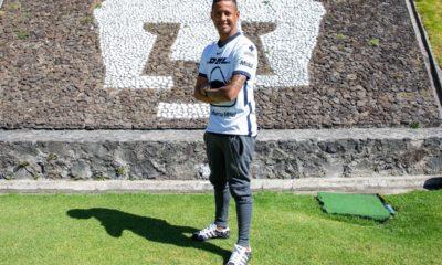 Gabriel Torres llega a los Pumas. Foto: Twitter Pumas
