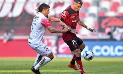 Igualan Toluca ante Atlas. Foto: Twitter Liga MX