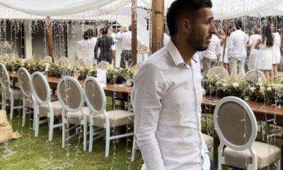 Ismael Sosa aparece en una boda. Foto: @Alexagih_9
