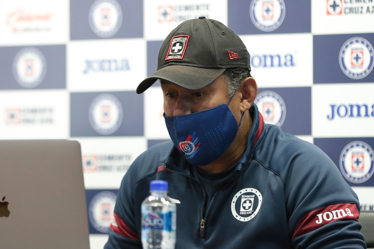 Juan Reynoso técnico de Cruz Azul. Foto: Cruz Azul