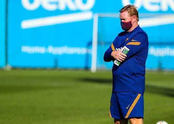 Koeman confía en que Messi se quedará. Foto: Twitter