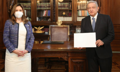 López Obrador aseguró que no dejarán de llegar vacunas. Foto: Twitter López Obrador