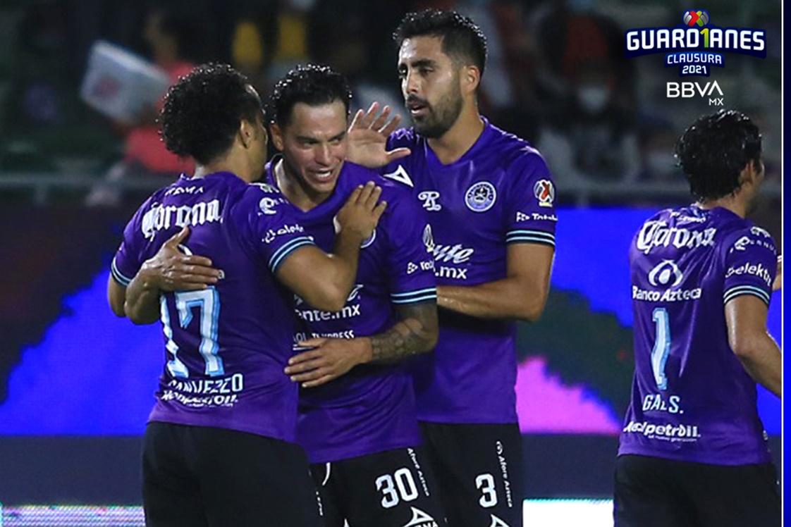 Mazatlán le pegó a Querétaro. Foto: Twitter