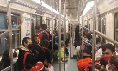 Reinicia servicio Línea 2 del Metro
