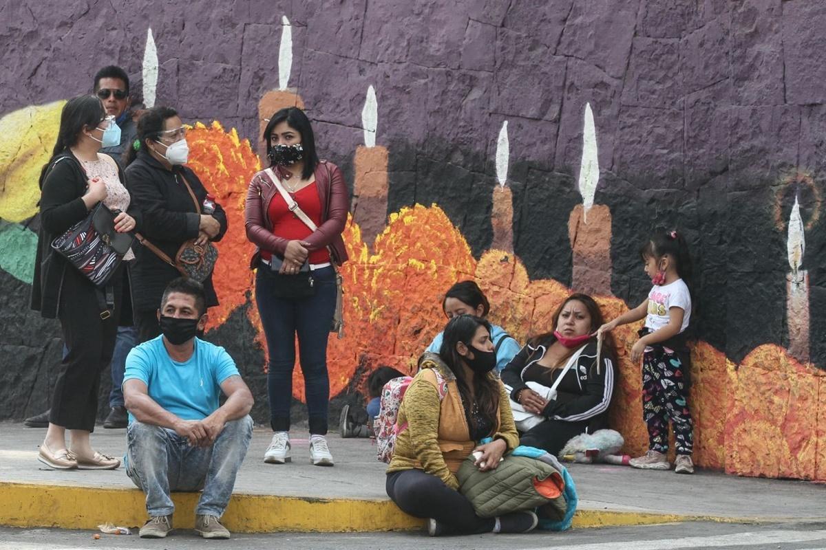 México rebasa las 165 mil muertes por Covid-19. Foto: Cuartocuro