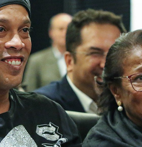 Murió la mamá de Ronaldinho. Foto: Twitter