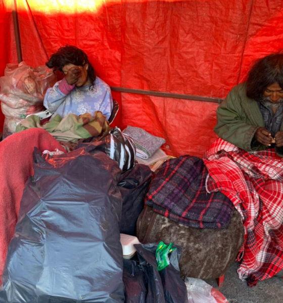 Dejan sin hogar a hermanos y vecinos de Neza los apoyan