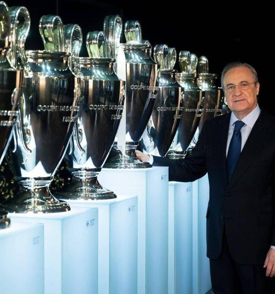 Presidente del Real Madrid dio positivo por Covid-19. Foto: Twitter
