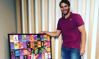 Rafael Nadal se ausenta del Abierto Mexicano de Acapulco. Foto: Twitter Rafael Nadal