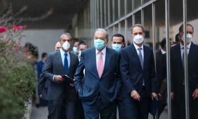 Muestran Carlos Slim y presidente de Argentina optimismo en vacunas anticovid
