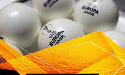 Sorteo de la Europa League. Foto: Twitter UEFA