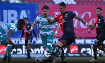Sufrido empate del Atlas ante Santos. Foto: Twitter Atlas