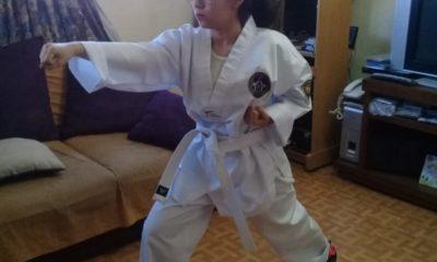 Taekwondo permite olvidar la Covid-19. Foto: UNAM