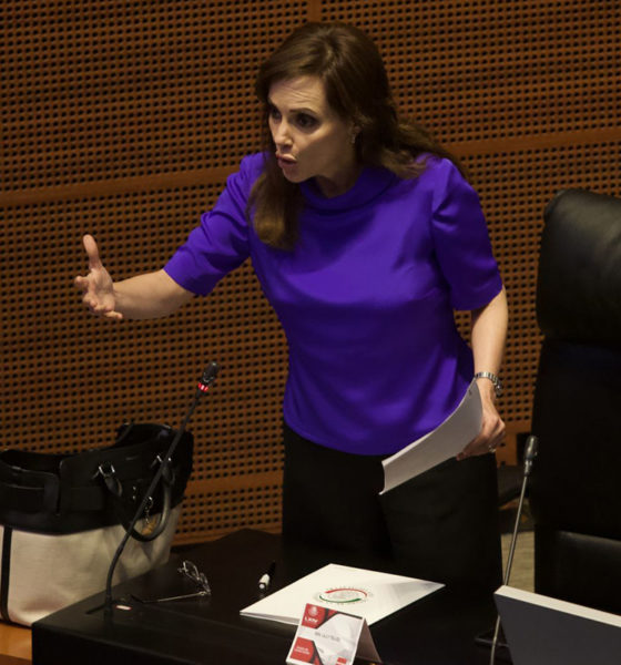 Condena PAN ataques en contra de la senadora Lilly Téllez
