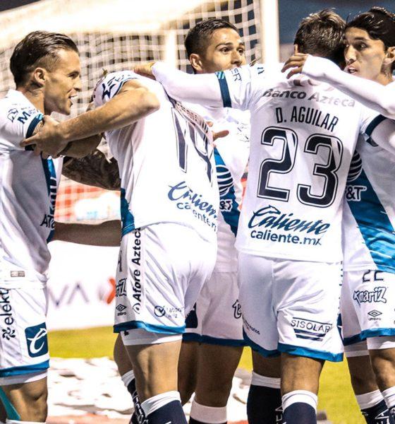 Tres goles de Ormeño y Puebla vapulea a los Bravos. Foto: Twitter