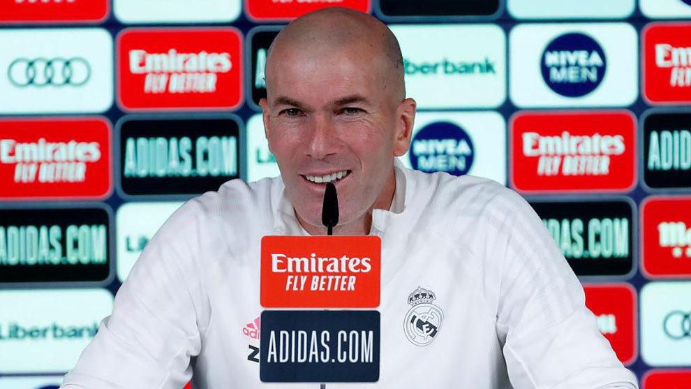 Zinedine Zidane. Foto: Twitter