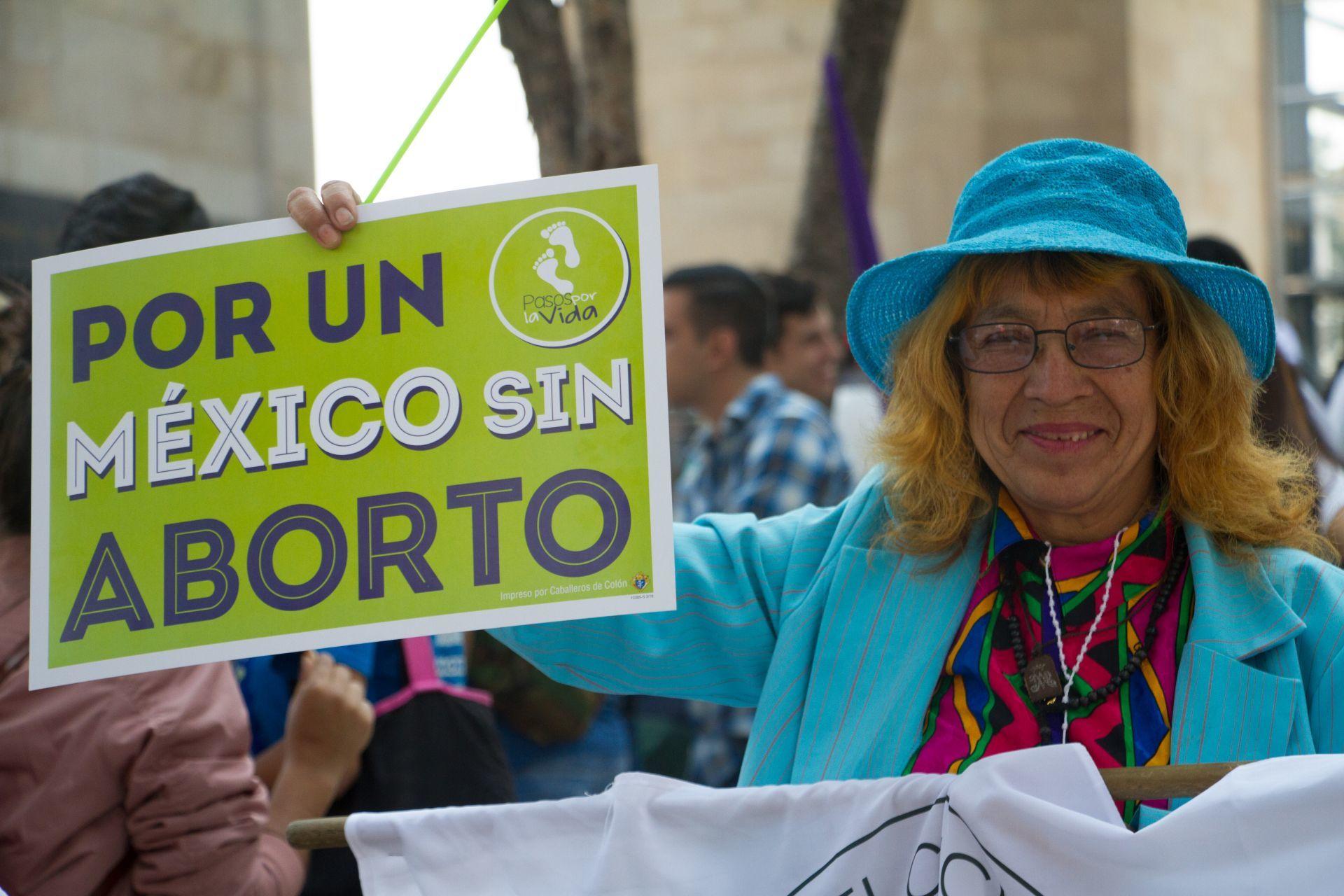 Cada vez más mexicanos están en contra del aborto